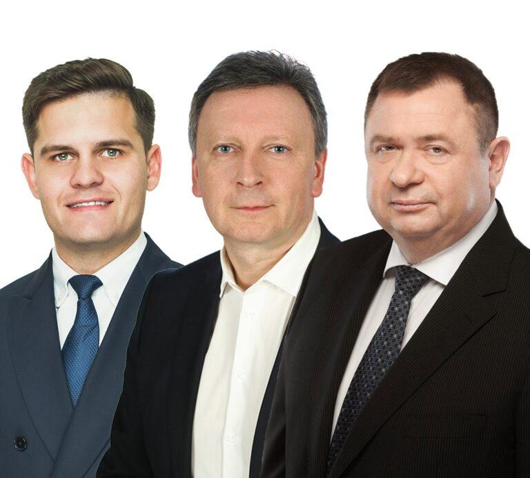 Dovydas Kaminskas, Kęstutis Vaitukaitis, Audrius Klišonis