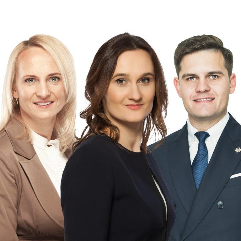 Edita Rudelienė, Viktorija Čmilytė-Nielsen, Dovydas Kaminskas