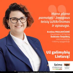 Evelina paulavičienė