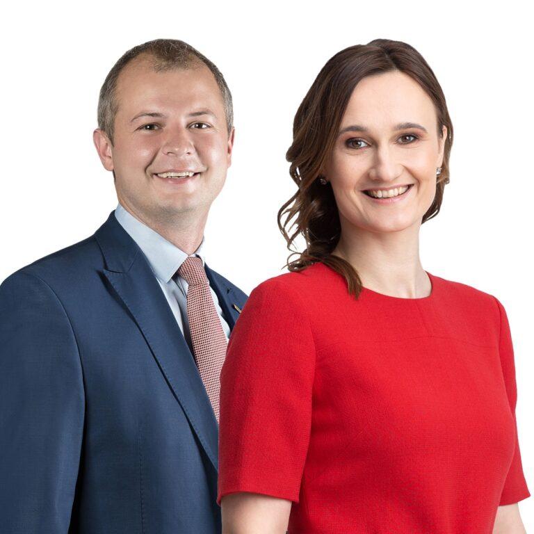 Simonas Gentvilas ir Viktorija Čmilytė-Nielsen