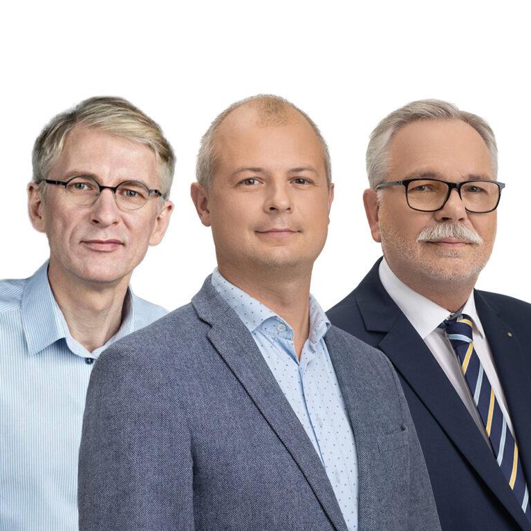Simonas Gentvilas, Valdemaras Jakštas, Martynas Nagevičius