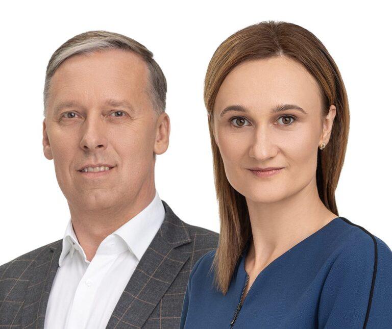 Viktorija Čmilytė-Nielsen, Sigitas Šliažas