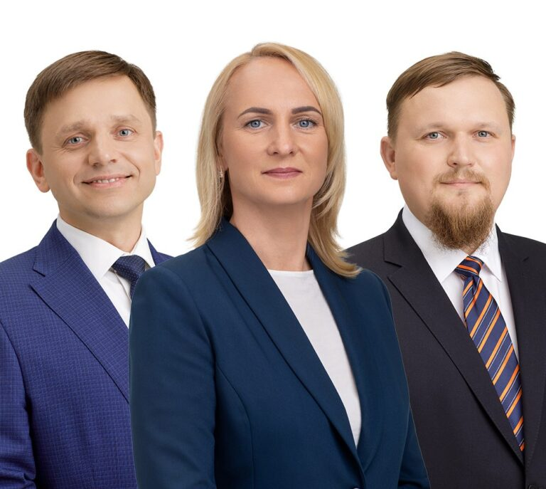 Vytautas Tamošiūnas, Edita Rudelienė, Audrius Kazlauskas