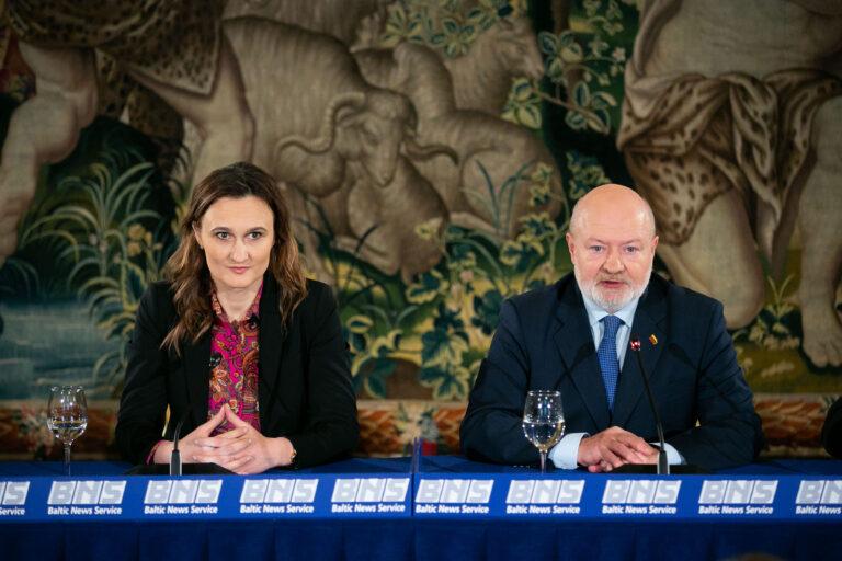 Viktorija Cmilyte-Nielsen ir Eugenijus Gentvilas