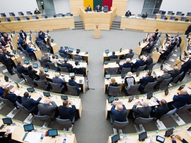 seimas komitetai