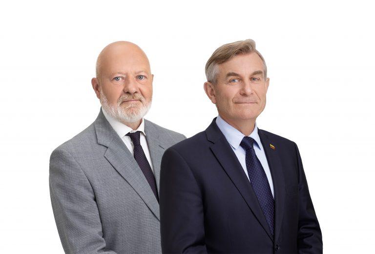 Eugenijus Gentvilas ir Viktoras Pranckietis