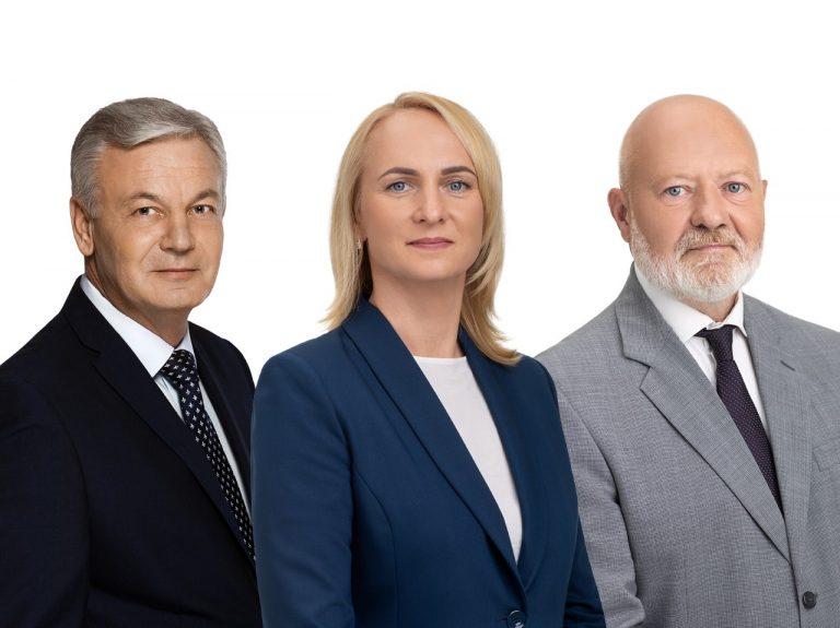 Ričardas Juška, Edita Rudelienė, Eugenijus Gentvilas