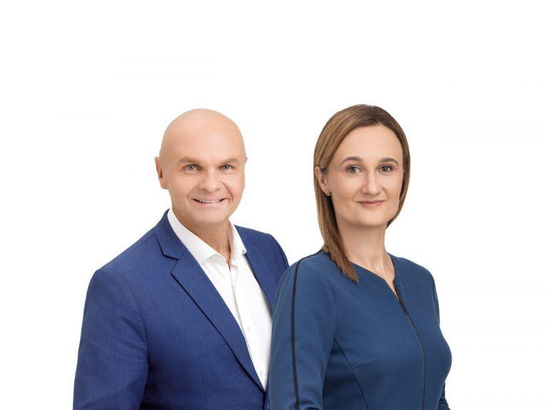 Arminas Lydeka ir Viktorija Čmilytė-Nielsen
